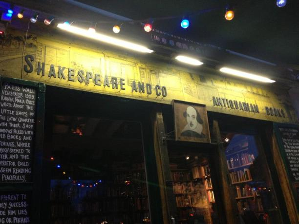 Shakespeare and Company Bookstore. Oh yes, I bough books in Paris and hauled them home!