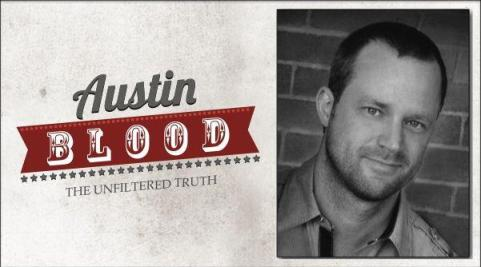 Austin Blood logo and pic